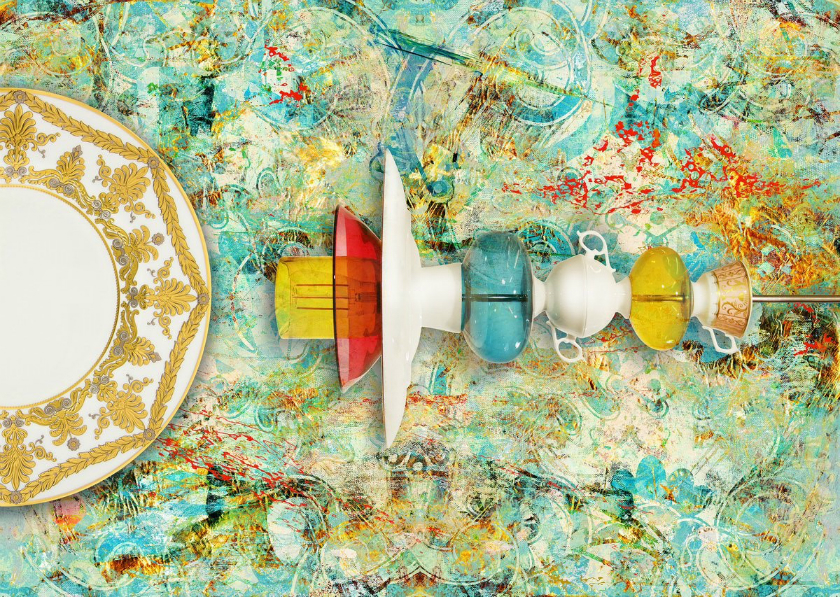 Disruptive Dining - a Colorful Dining Experience at Decorex 2017 - Decorex International 2017 ➤ Discover the season's newest design news and inspiration ideas. Visit Daily Design News and subscribe our newsletter! #dailydesignnews #designnews #bestdesignevets #designevents #DecorexInternational2017 #Decorex2017 #DecorexInternational #Decorex