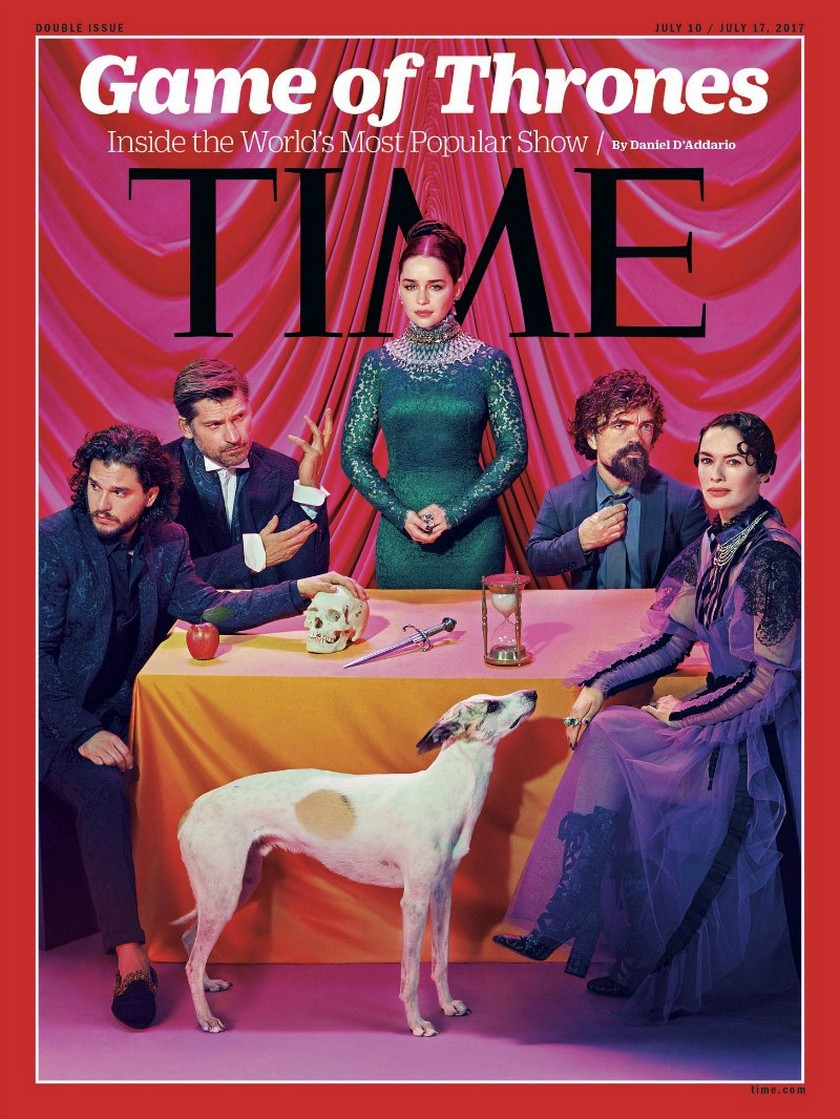 The Game of Thrones Photoshoot For Time Magazine is Pretty Awesome ➤ Discover the season's newest design news and inspiration ideas. Visit Daily Design News and subscribe our newsletter! #dailydesignnews #designnews #GameofThrones #GoT #TimeMagazine #contemporaryart