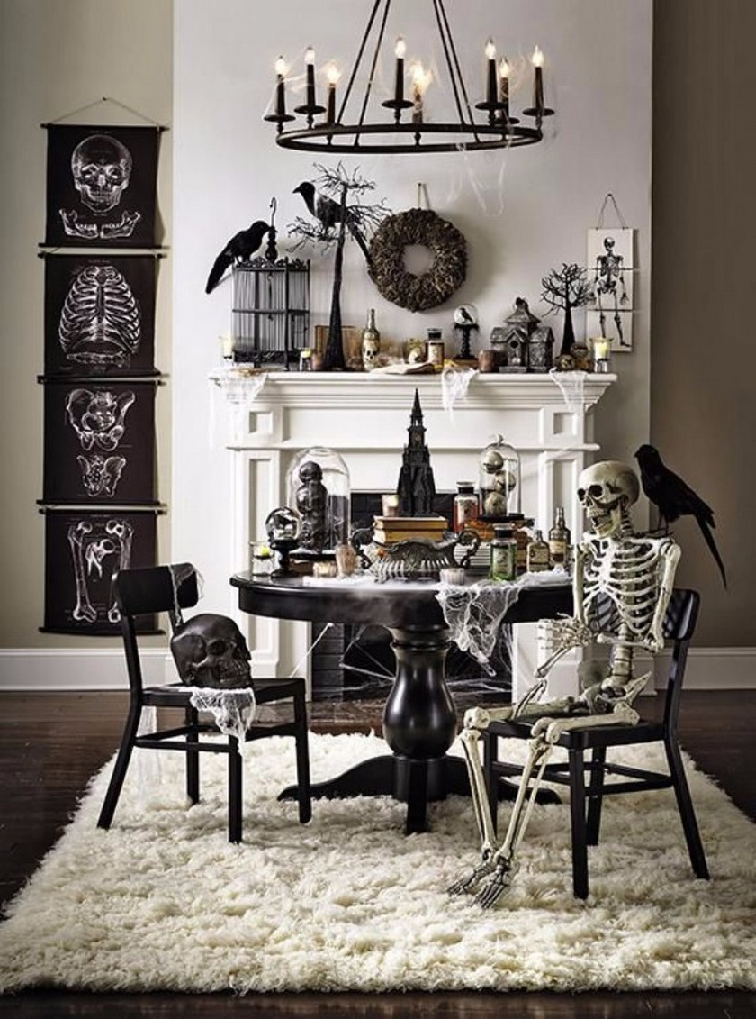 10 Halloween Interior Design Ideas that Are Both Spooky and Chic ...
