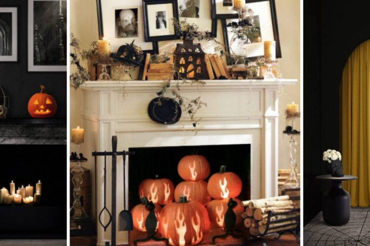 10 Halloween Interior Design Ideas that Are Both Spooky and Chic - Halloween Decor Ideas - Interior Design Ideas for Halloween - Decor Ideas for Halloween ➤ Discover the season's newest design news and inspiration ideas. Visit Daily Design News and subscribe our newsletter! #dailydesignnews #Halloween #HalloweenDecorIdeas
