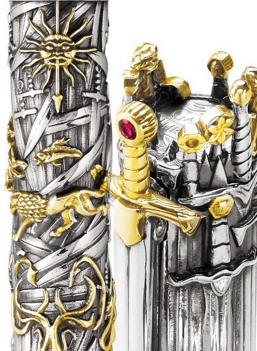 Check Out the New Montegrappa Collection Inspired in Game of Thrones > Daily Design News > The latest design news and trends in the world > #gameofthrones #montegrappacollection #dailydesignews