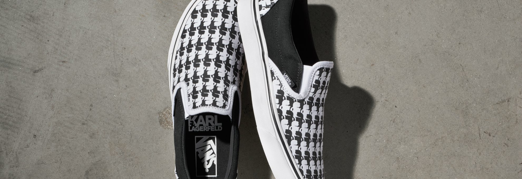 You Have to See the Karl Lagerfeld Collection for Vans *Off the Wall* Fall 2017 > Daily Design News > The latest on the best design trends and events in the world > #karlagerfeld #vansoffthewall #dailydesignews