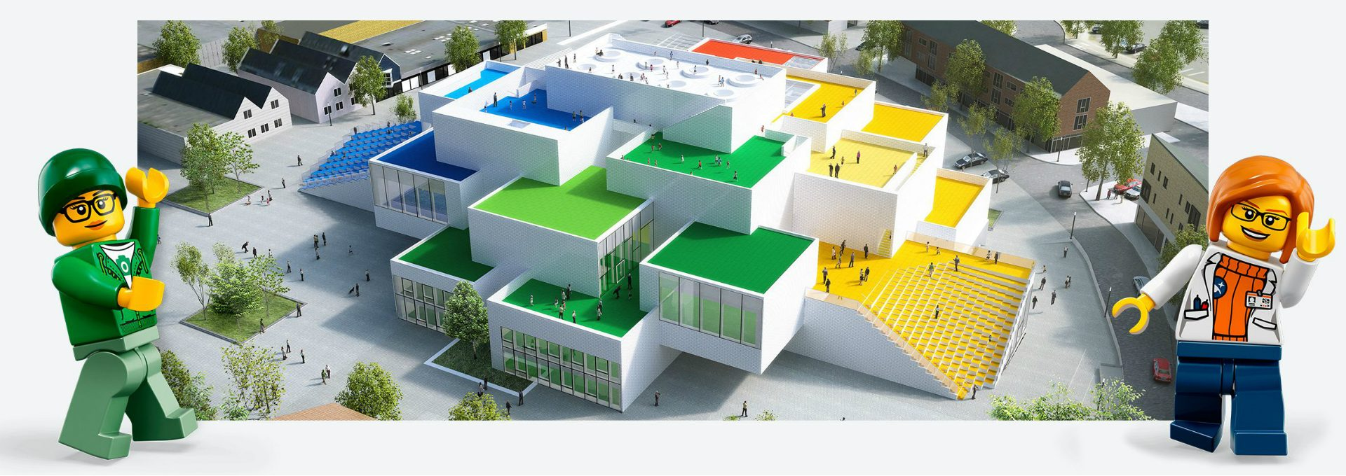 Bjarke Ingels Group And LEGO Present The 12,000 M² LEGO House