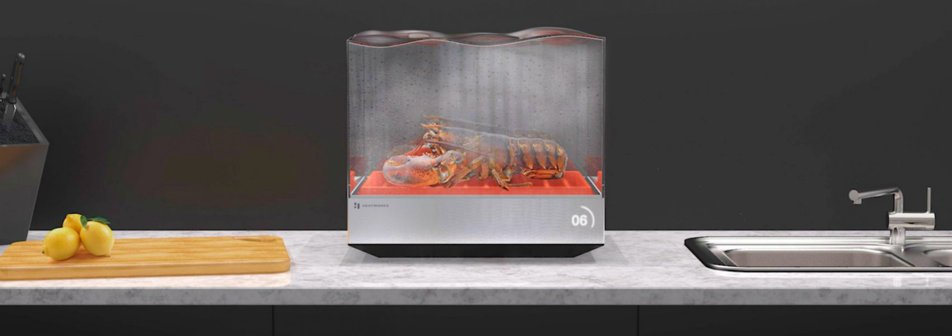 Heatworks Redesigns the Standard Dishwasher to Suit Micro Homes - Daily Design News - Tetra dishwasher - Ohmic Array Technology - app-controlled dishwasher for small homes ➤ Discover the season's newest design news and inspiration ideas. Visit Daily Design News and subscribe our newsletter! #dailydesignnews #designevents #Tetradishwasher #MicroHomes #smarthome