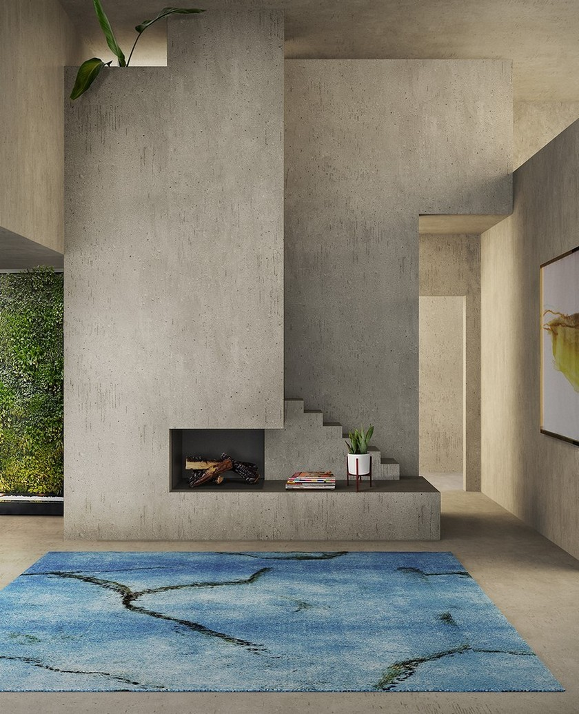 How To Pick The Perfect Modern Rug Following The 2018 Color Trends > Daily Design News > the latest news and trends in the design world > #2018colortrends #modernrugs #dailydesignews