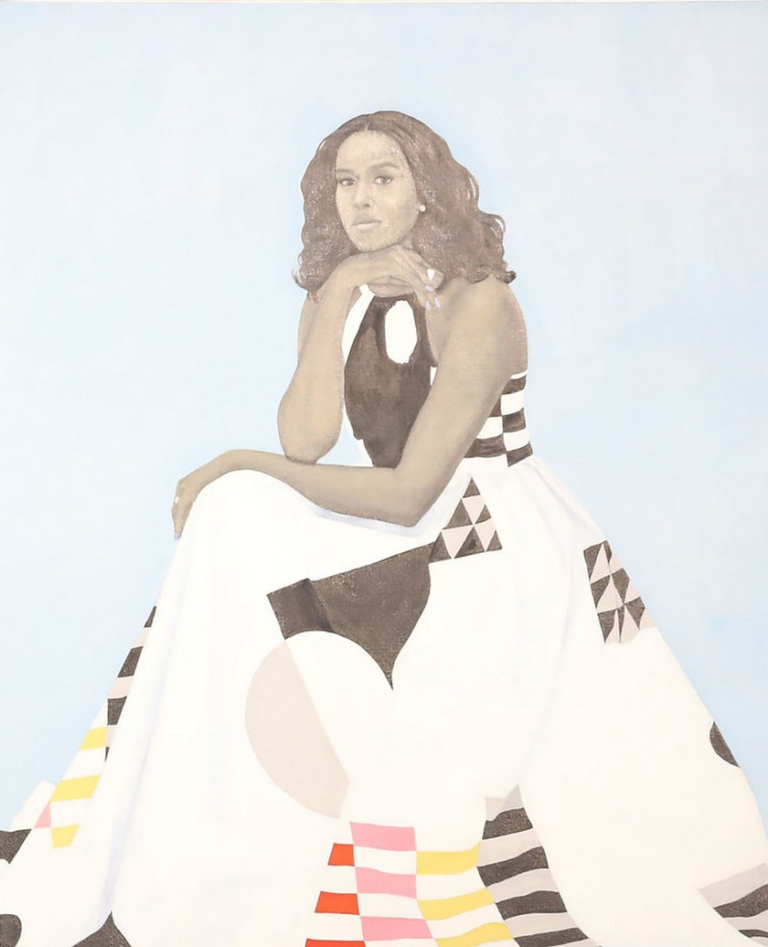 Check Out Barack and Michelle Obama's Official Presidential Portraits > Daily Design News > The latest news and trends in the design world > #barackandmichelleobamaofficialpresidentialportraits #presidentialportraits #dailydesignews