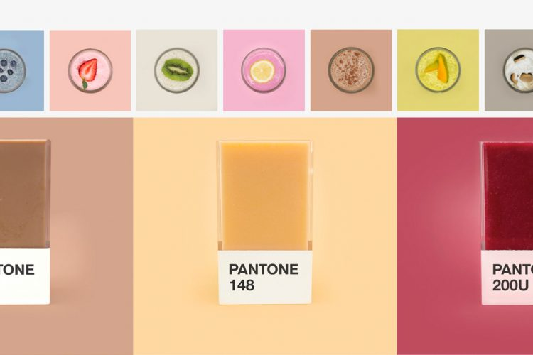 Pantone smoothies daily design news for Agenda pantone 2018
