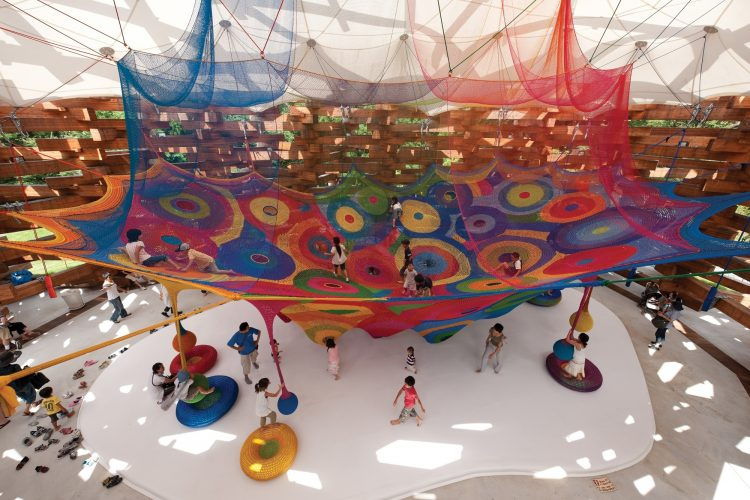 BEST PLAYGROUNDS MADE BY WORLD'S TOP ARCHITECTS