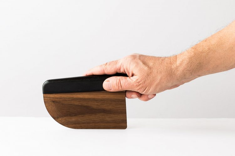 WOODEN KNIFE DESIGNED BY MAISON MILAN TO FIT COMFORTABLY IN YOUR HAND