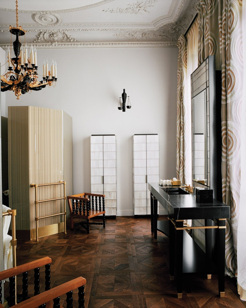 A Luxury Mansion in Paris - An interior design project by Jacques Grange