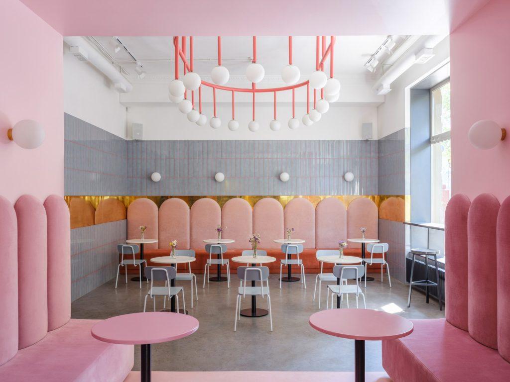 Modern Design | Breadway Bakery by Lera Brumina