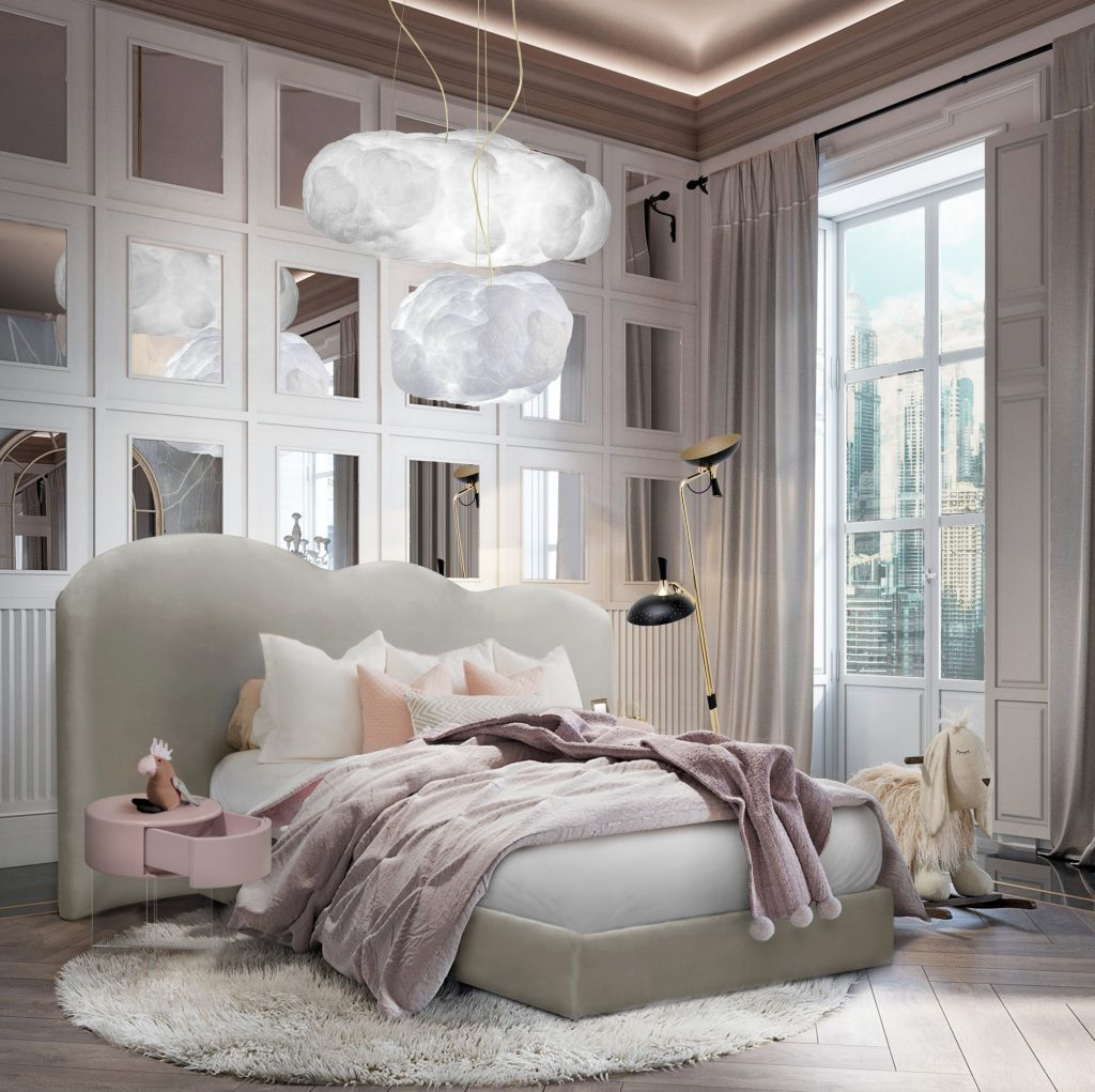 Modern Bedroom with pastel shades by Circu
