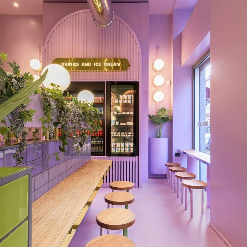 Inside Masquespacio's New Colorful Restaurant Design Project In Milan