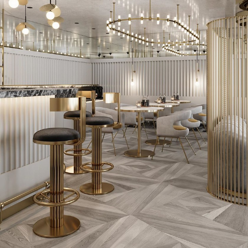 New Bar Furniture Collection Brings An Art Deco Twist To Your Design