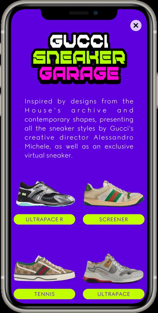 Gucci Sneaker Garage