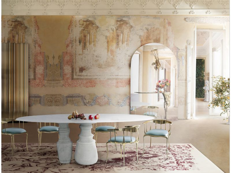 The Wonders Of Arts & Crafts – Details Of Marble and Faux-Marble Work