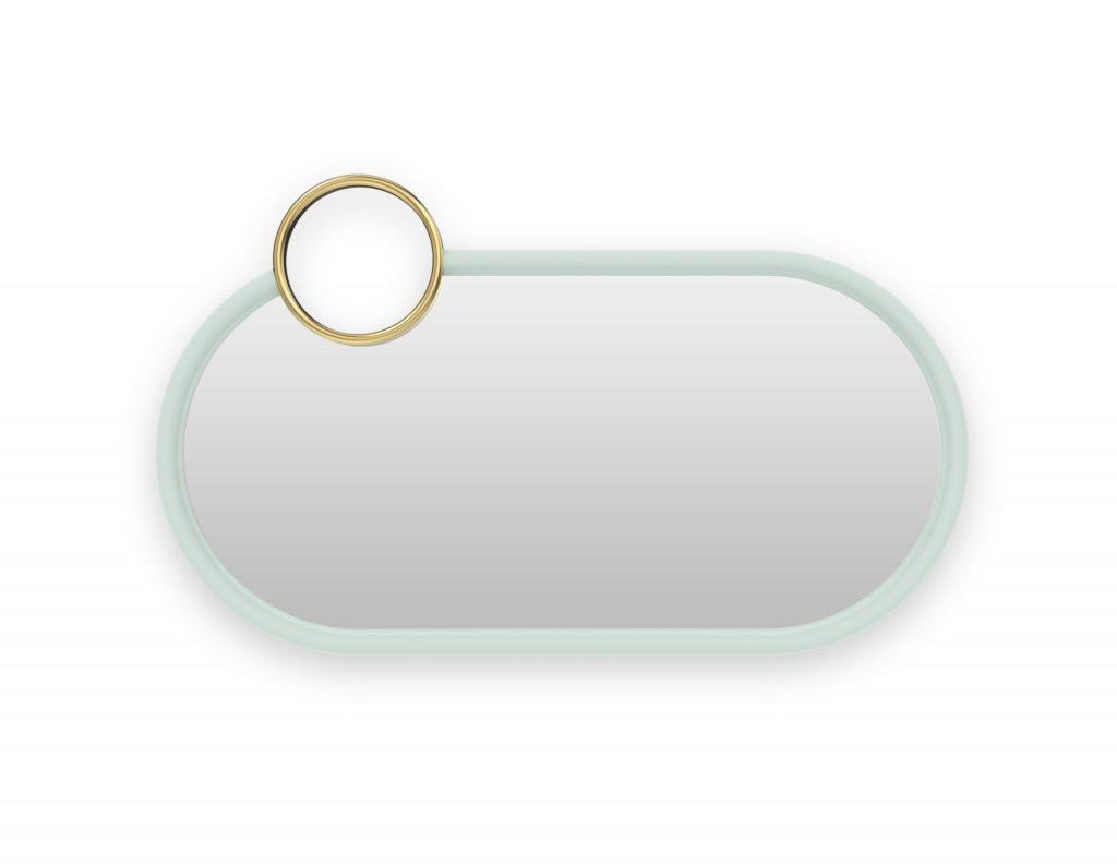 Mirrors | Bubble Gum Mirror Small