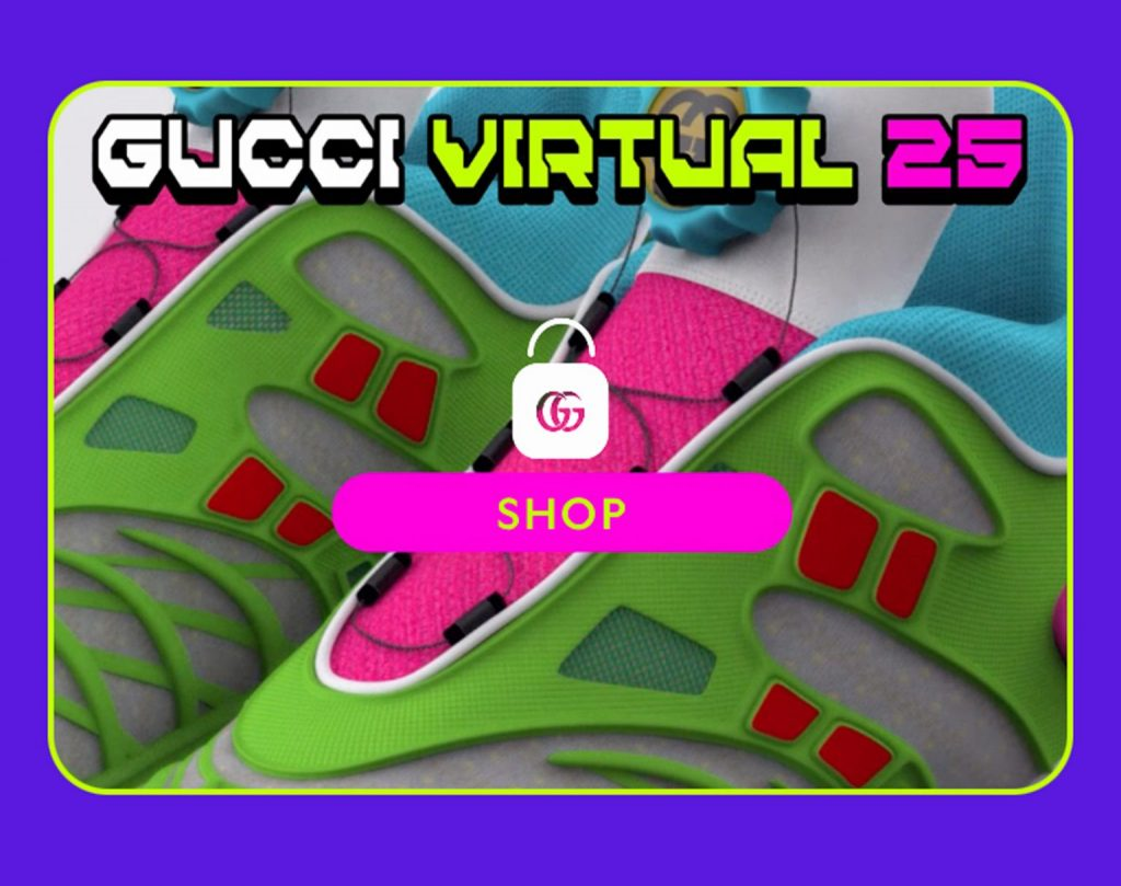 Gucci Virtual 25 App