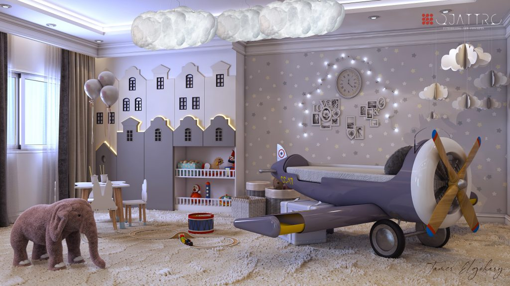 Kid's bedroom project by Quattro