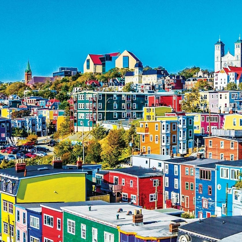 Colorful Architecture: The 5 Most Vibrant Places Of The World