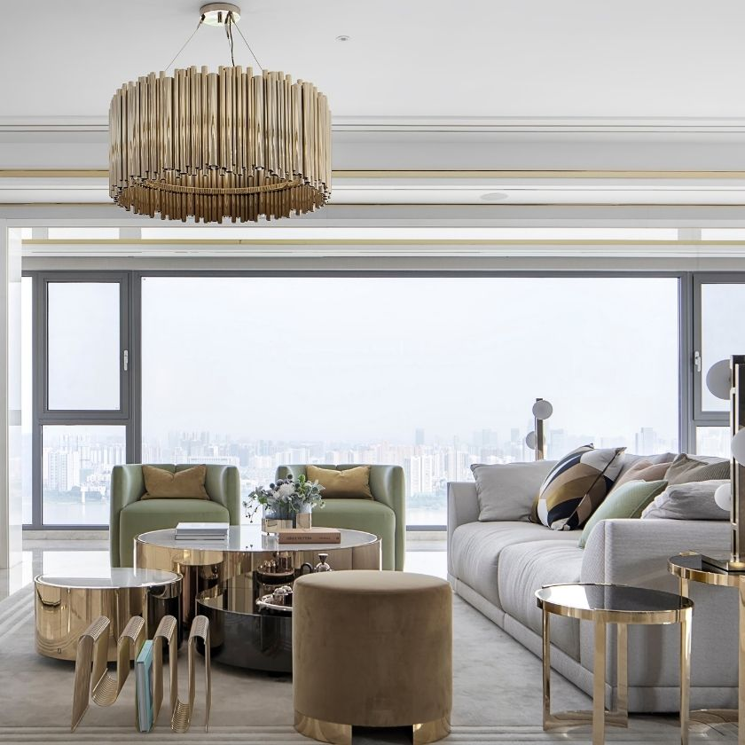 Get Inside The Modern Chic Residential In China