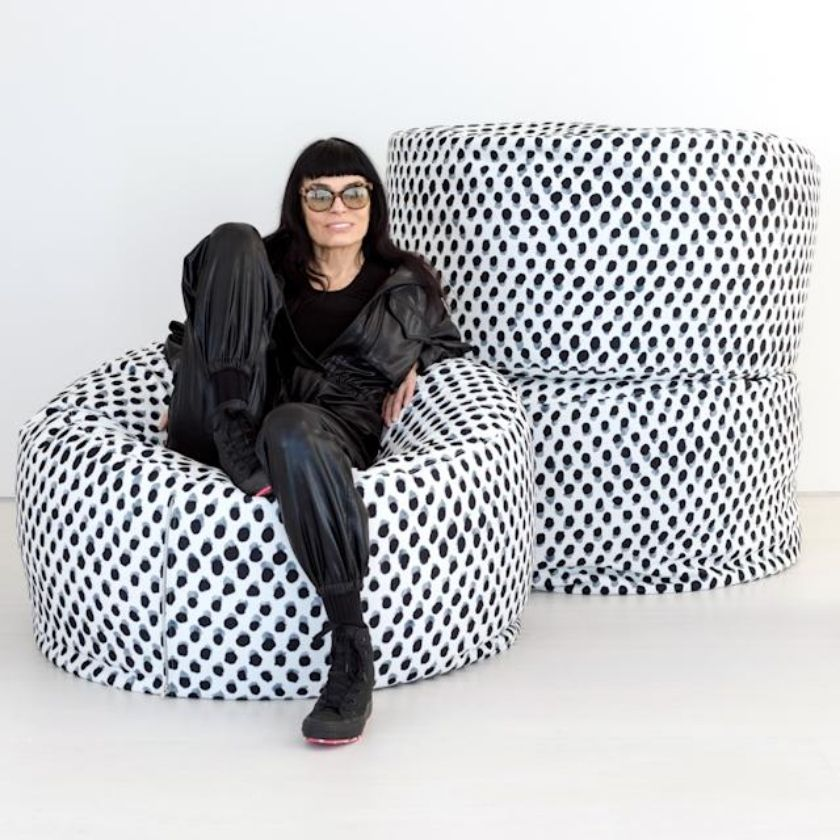High-Fashion Meets Design In Norma Kamali's NEW Home Collection