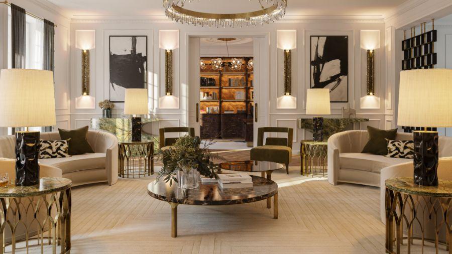 The Contemporary and Classic Design of Éternel Parisian Apartment