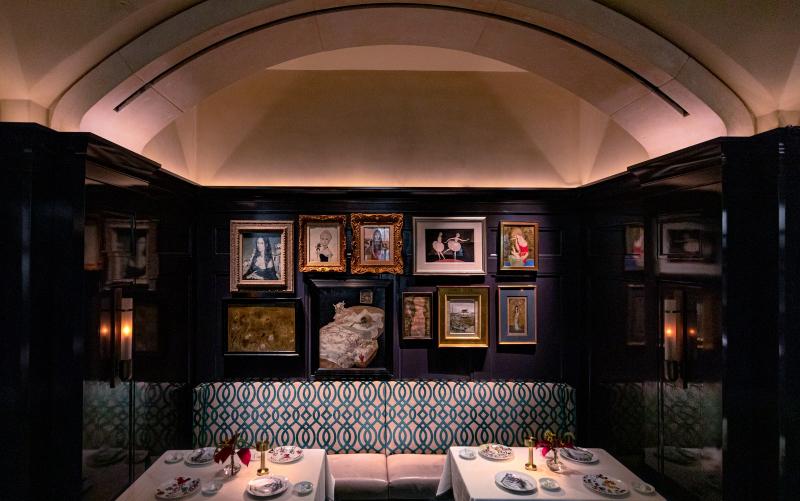 Luxury Restaurants Where Art is The Main Dish