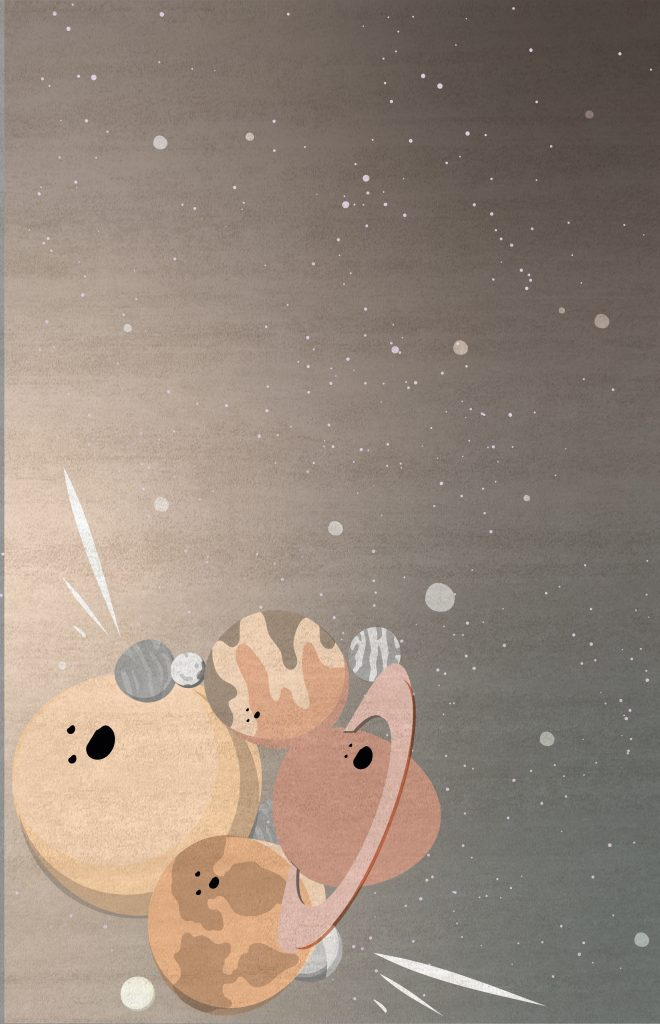 IV Planets Rug