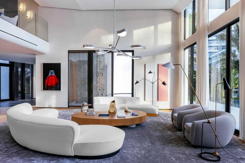 A Luxury Estate in Miami Beach - A 21$ Million Project by Achille Salvagni