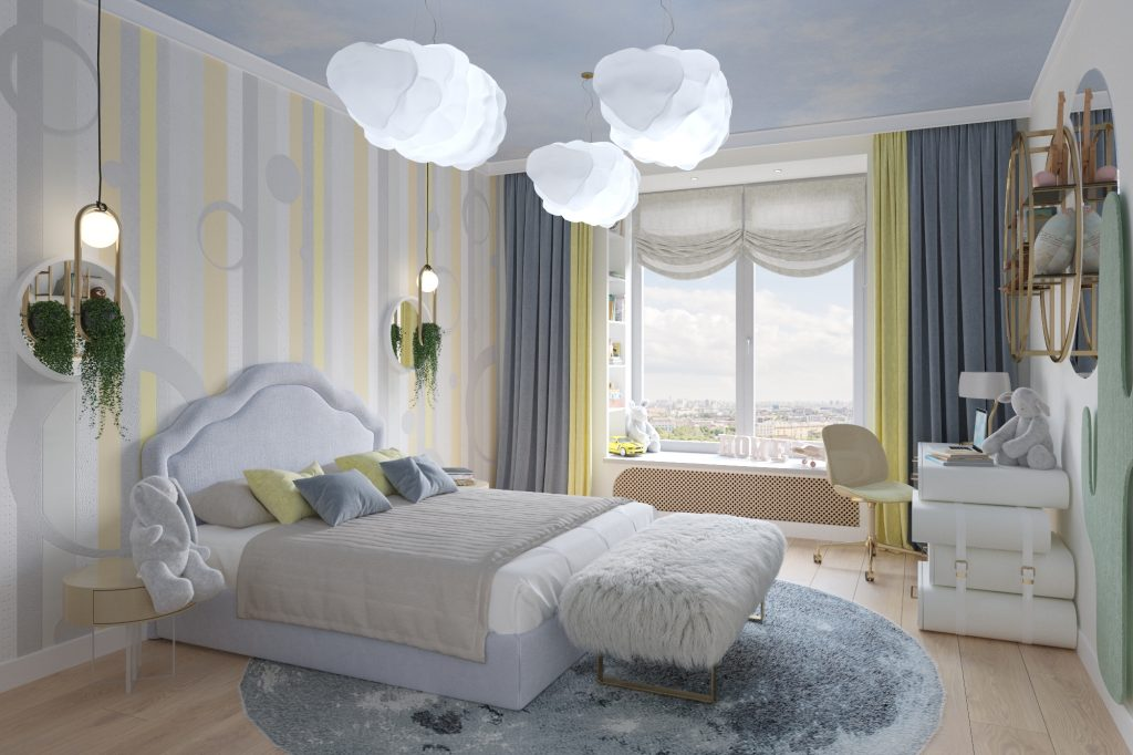 Kid's bedroom project by BSK