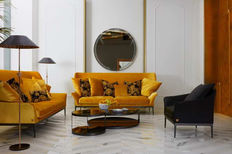 Versace Home Has Opened A New Flagship Store And It Is A Design Dream