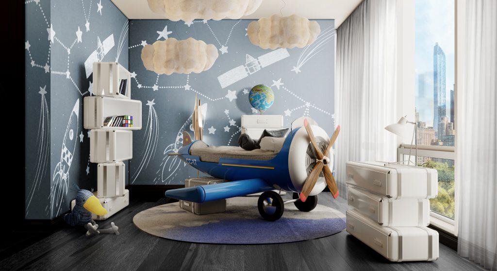 Kid's Room | Sky One Plane