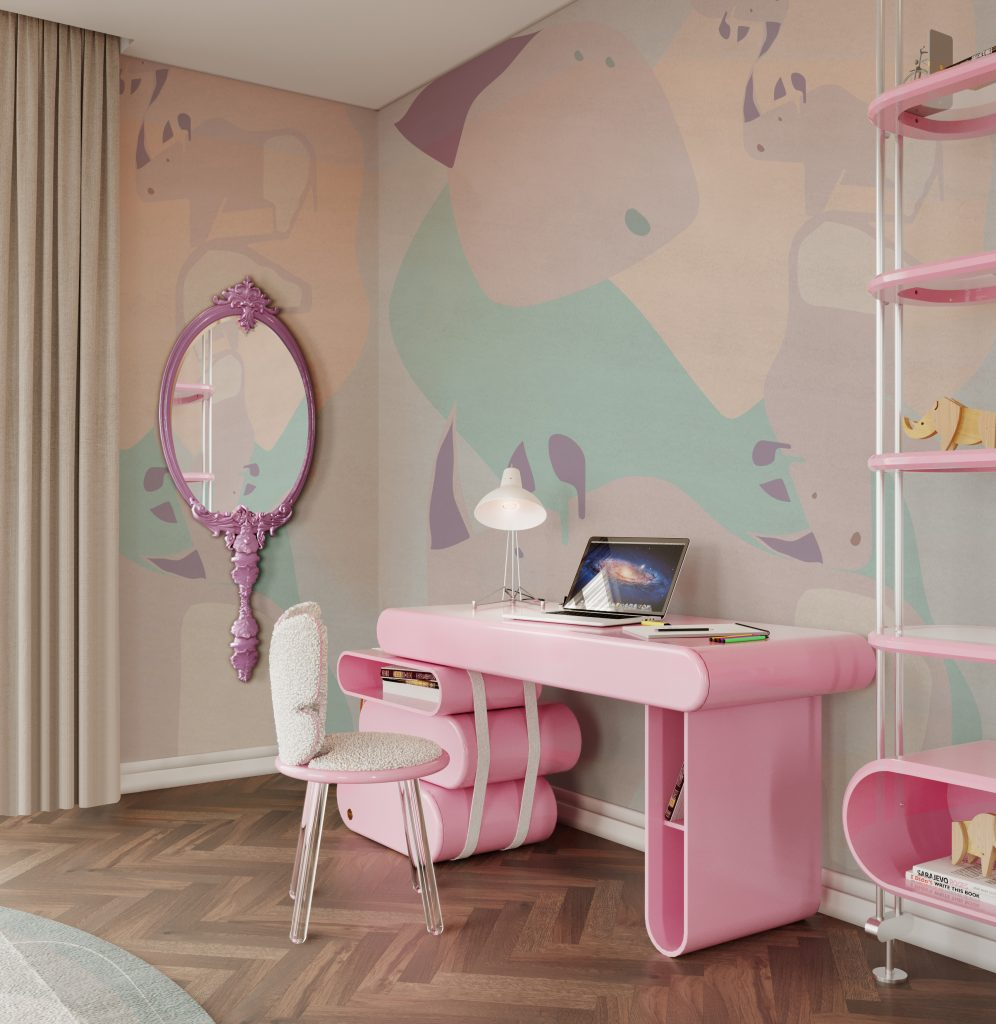 Kid's Room | Dream Desk and Magical Mirror