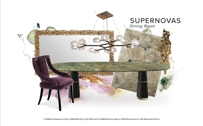 Discover The Supernova Dining Room of The Éternel Parisian Apartment