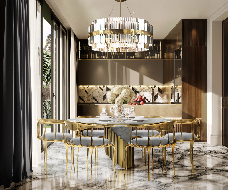 Exclusive Furniture that Spotlight Luxury Dining Rooms (15)