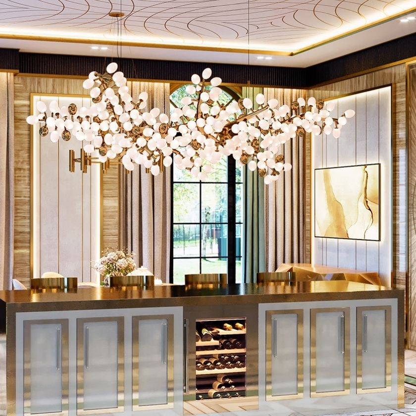 Inside Moscow's Famous Luxury Kitchen Design Project by Elena Klylova
