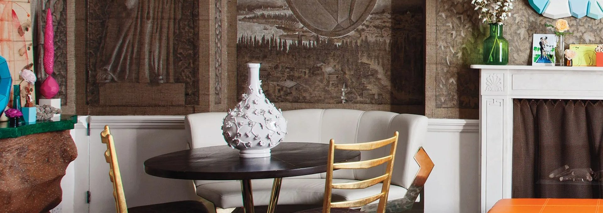 Luxurious And Modern Interiors From David Hicks_Cover