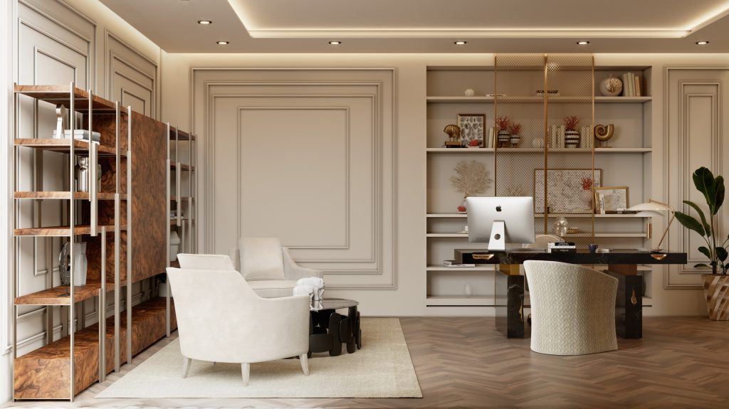 Monaco Penthouse Project by Caffe Latte Home