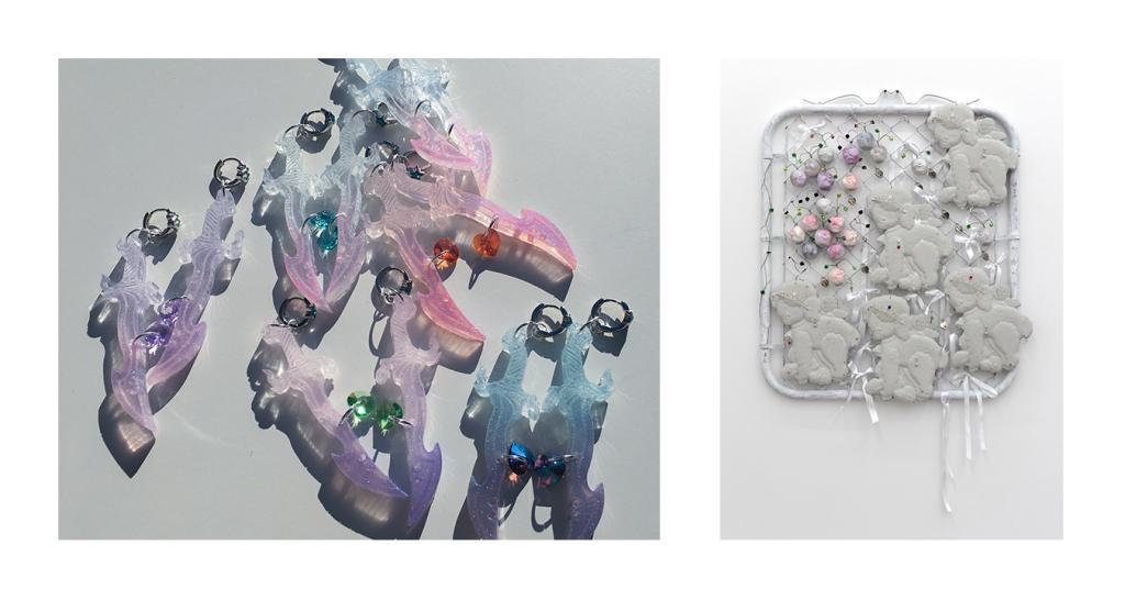 Photo : Left: courtesy the artist. Right: Courtesy Mickey, Chicago. by ArtNews