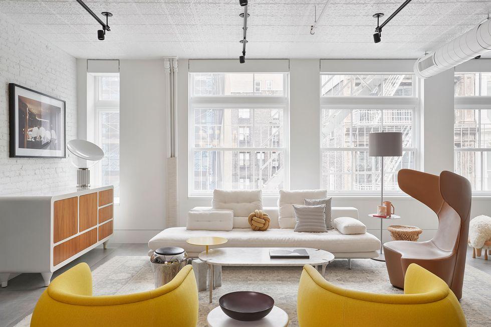 New York Flat | Living Room