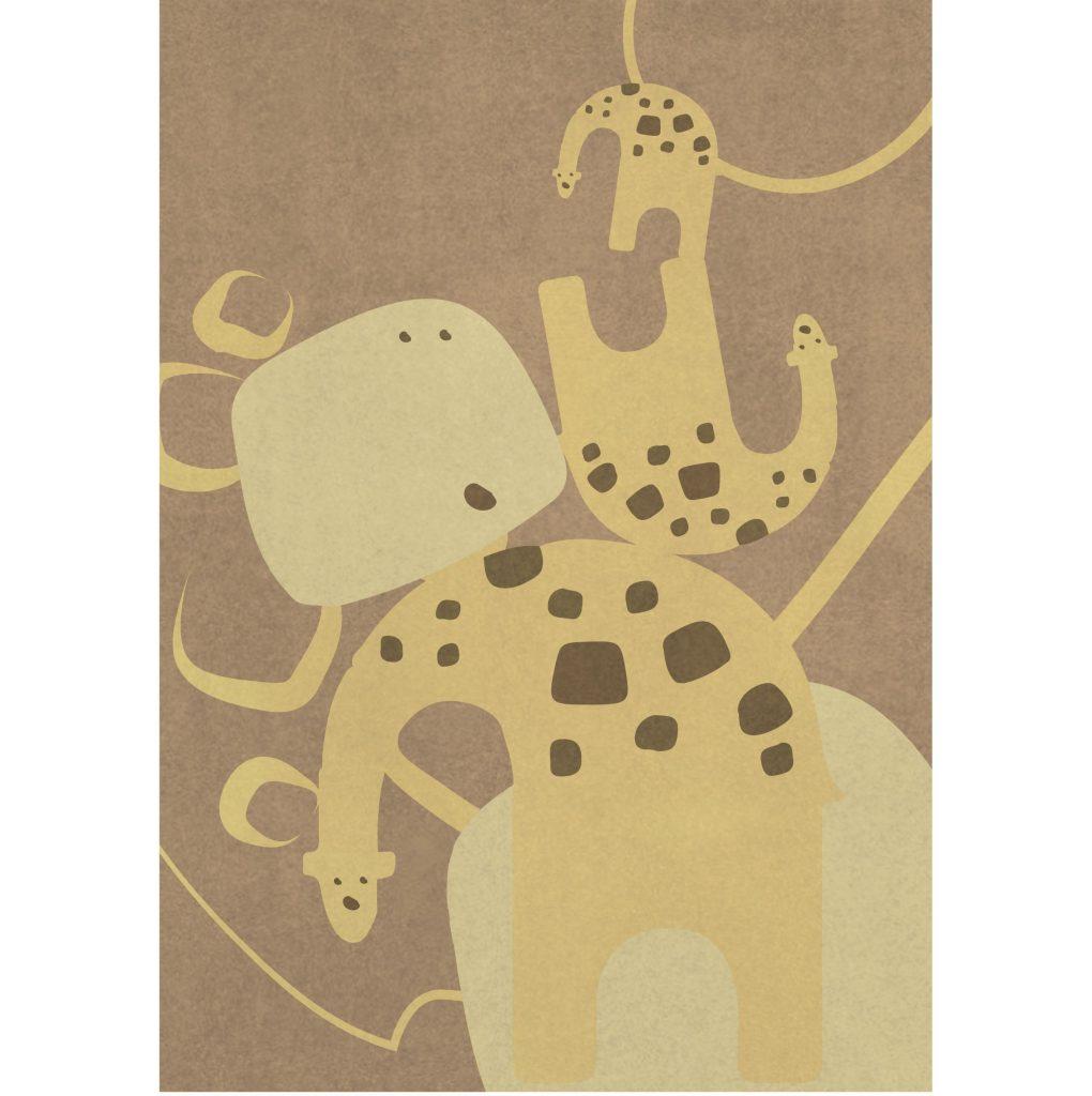 Rug | Giraffe Jungle
