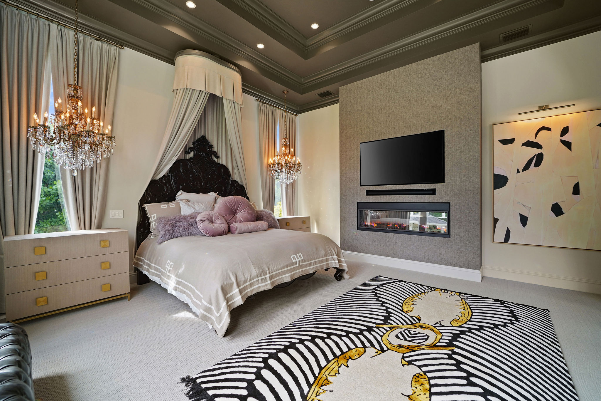 A Romantic Vibe With Eclectic Accents - The New Project by Hilary White With Rug'Society