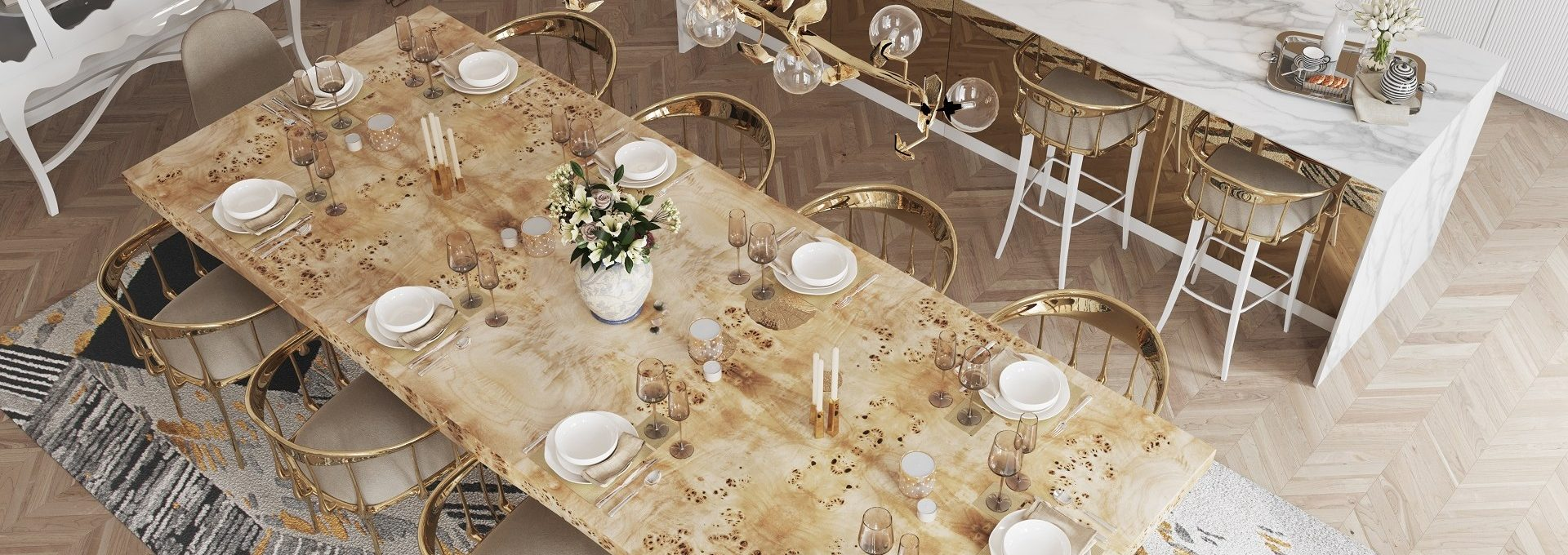 Luxury Dining Room Ideas That Will Inspire You (11)
