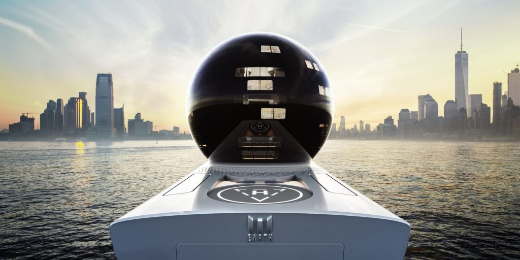 Earth 300 Yacht | Credit by  Iddes Yachts