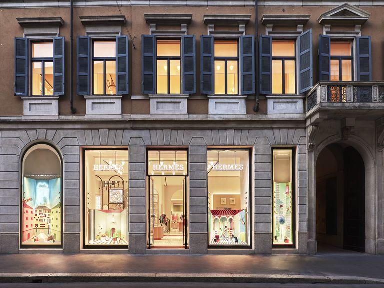 Hermés Boutique in Milan