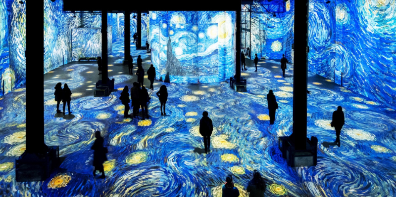 Infinity des Lumières - The Largest Digital Art Gallery
