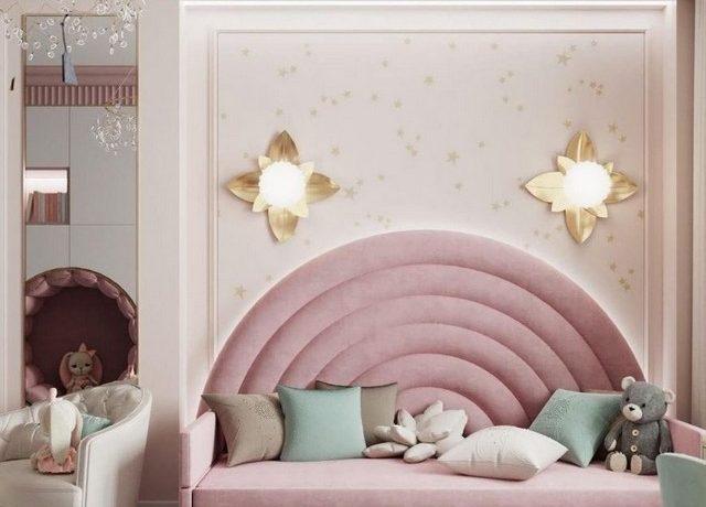 A Beautiful Wonderland-Themed Girlsroom by Ukvartira