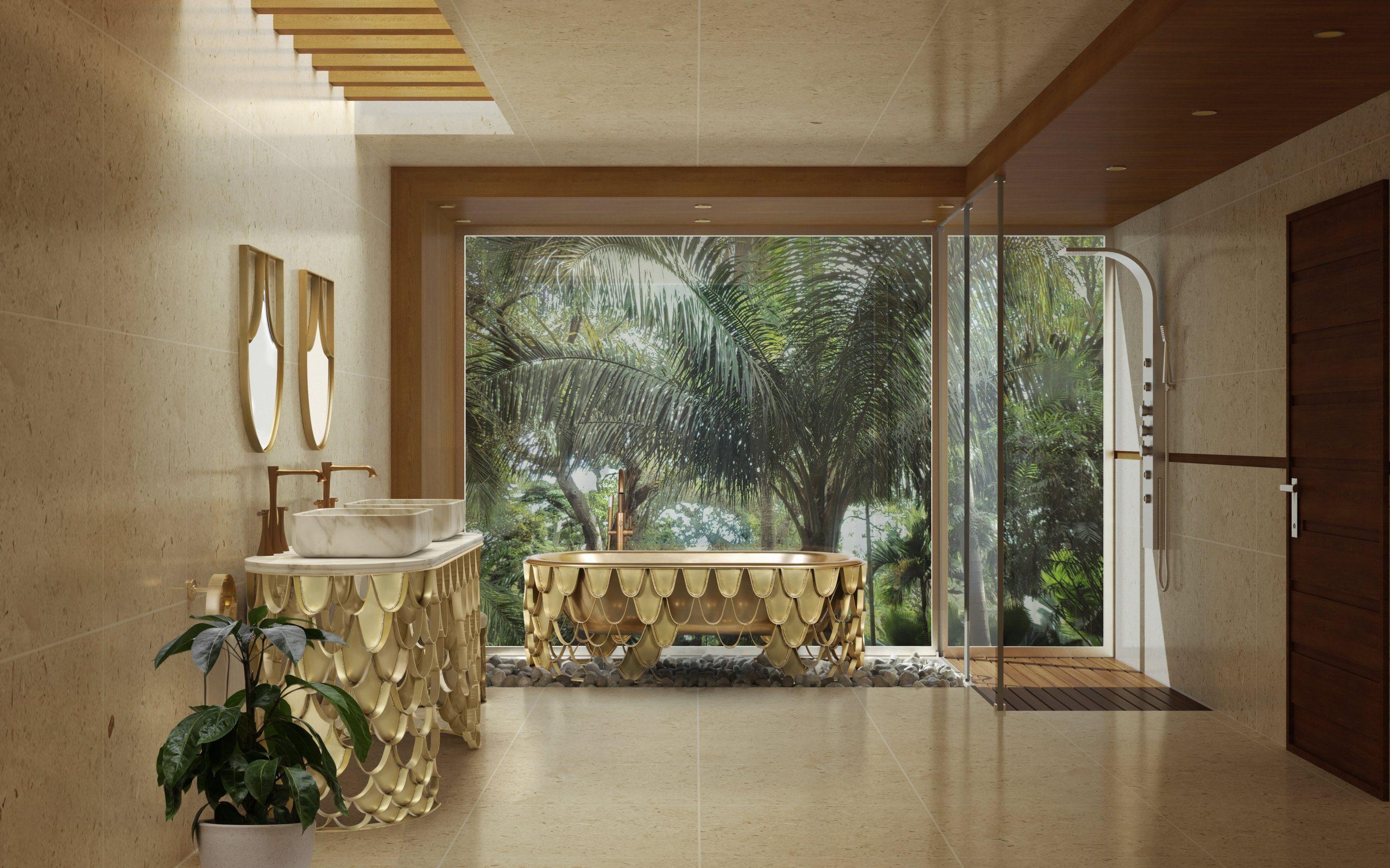 Biophilic Designs: Explore This Trend in your Bathroom Design