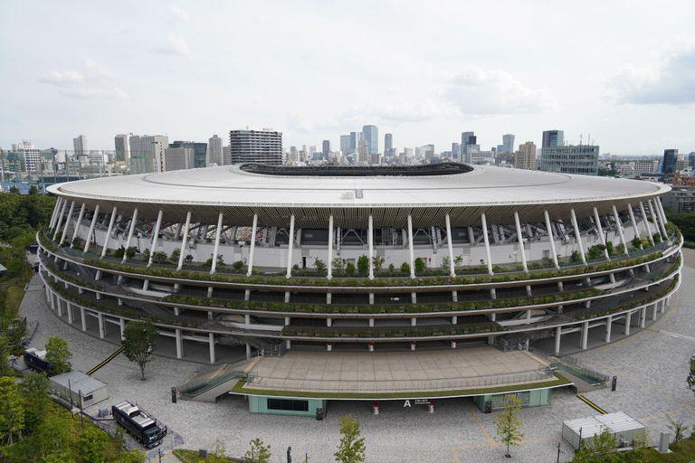 The National Stadium of Tokyo